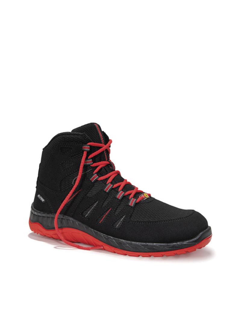 ELTEN GmbH MADDOX black-red Mid ESD S3 | Veiligheidsschoen halfhoog