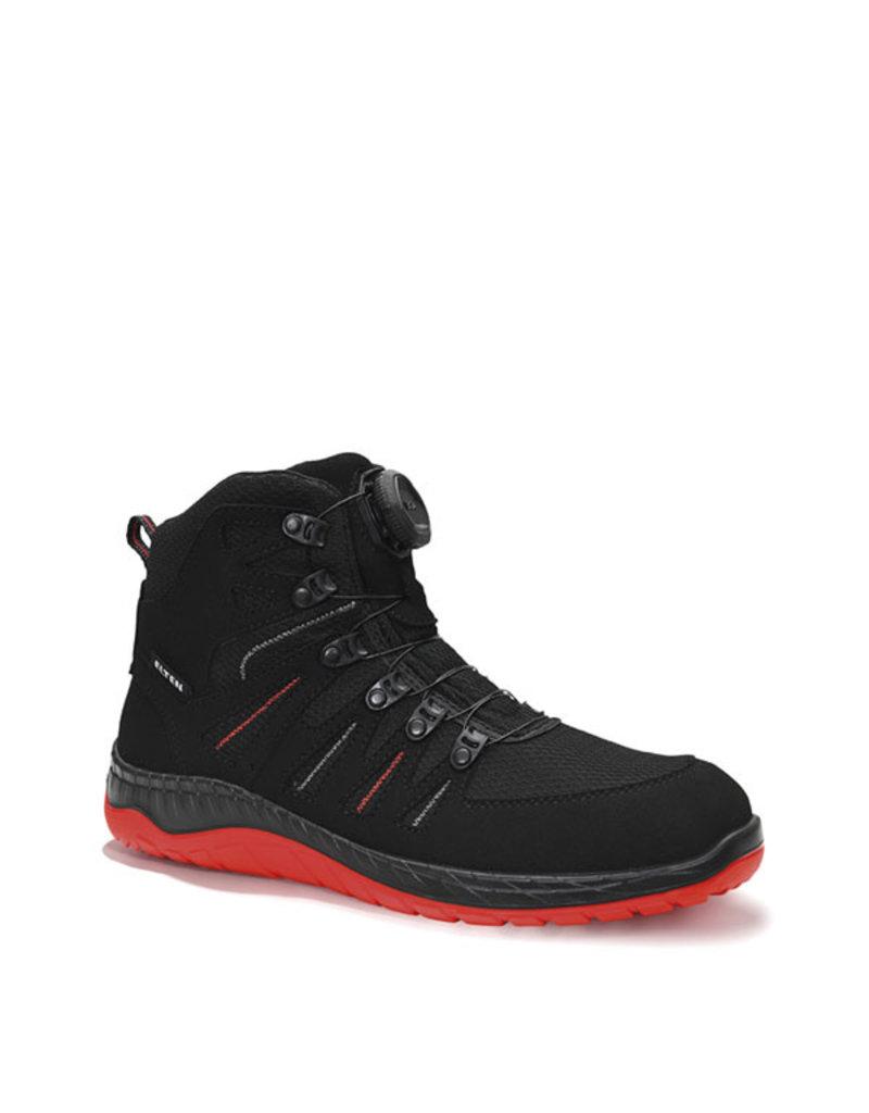 ELTEN GmbH MADDOX BOA® black-red Mid ESD S3   Veiligheidsschoen halfhoog