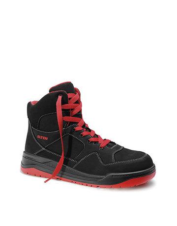 ELTEN GmbH MAVERICK black-red Mid ESD S3