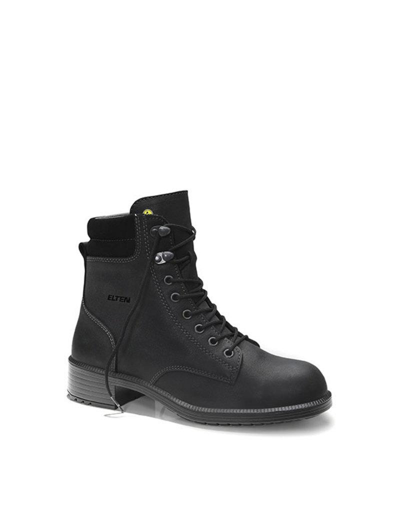 ELTEN GmbH NIKOLA black Mid ESD S2 | Veiligheidsschoen halfhoog voor dames
