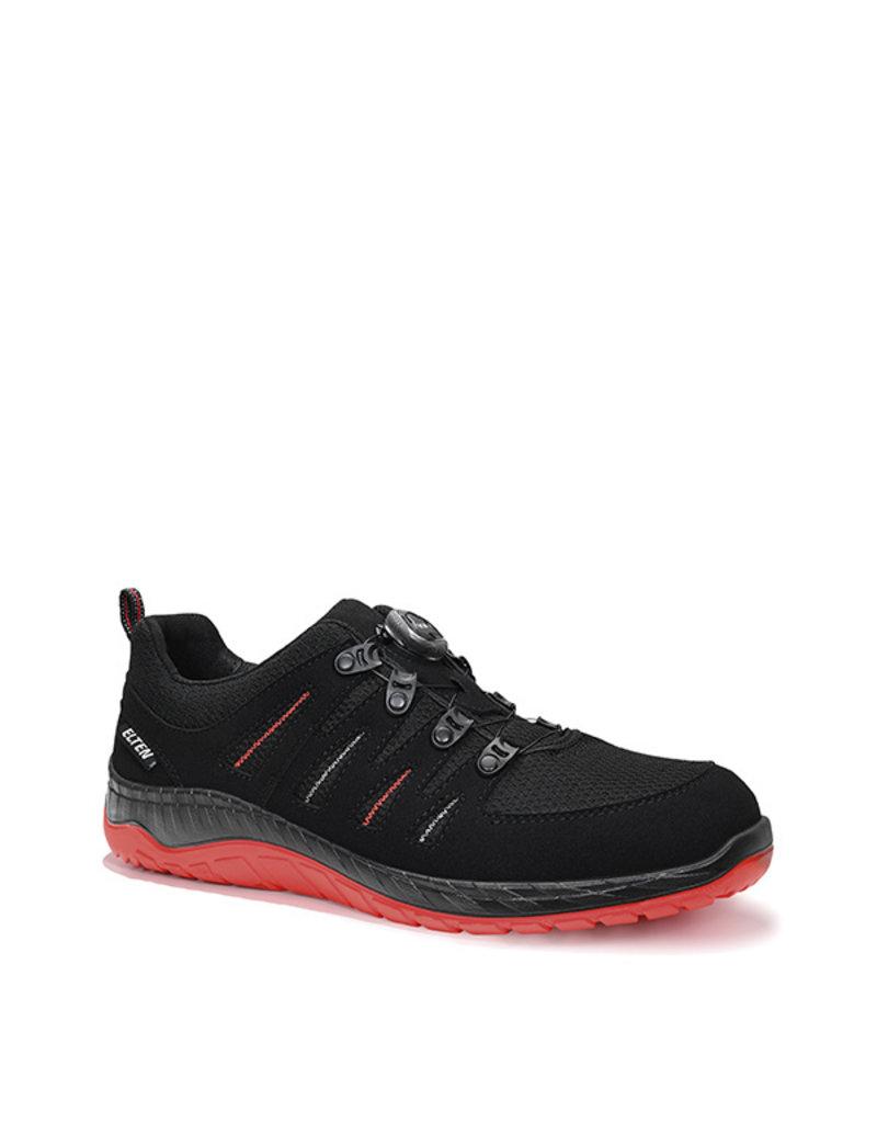 ELTEN GmbH MADDOX BOA® black-red Low ESD S3 | Veiligheidsschoen laag