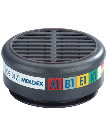 Moldex Moldex 890001 gas- en dampfilter A1B1E1K1