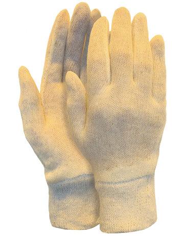 Interlock handschoen, damesmaat met manchet (260 grams)