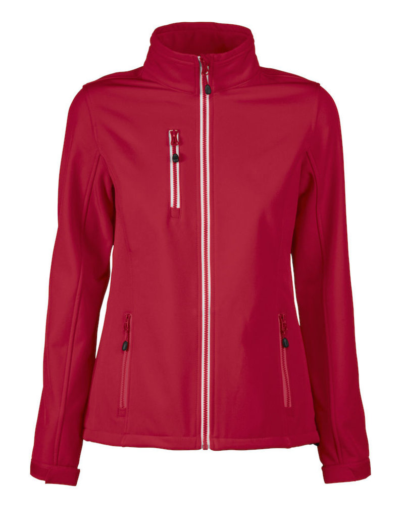 Printer Red Flag PRINTER VERT LADY SOFTSHELL JACKET