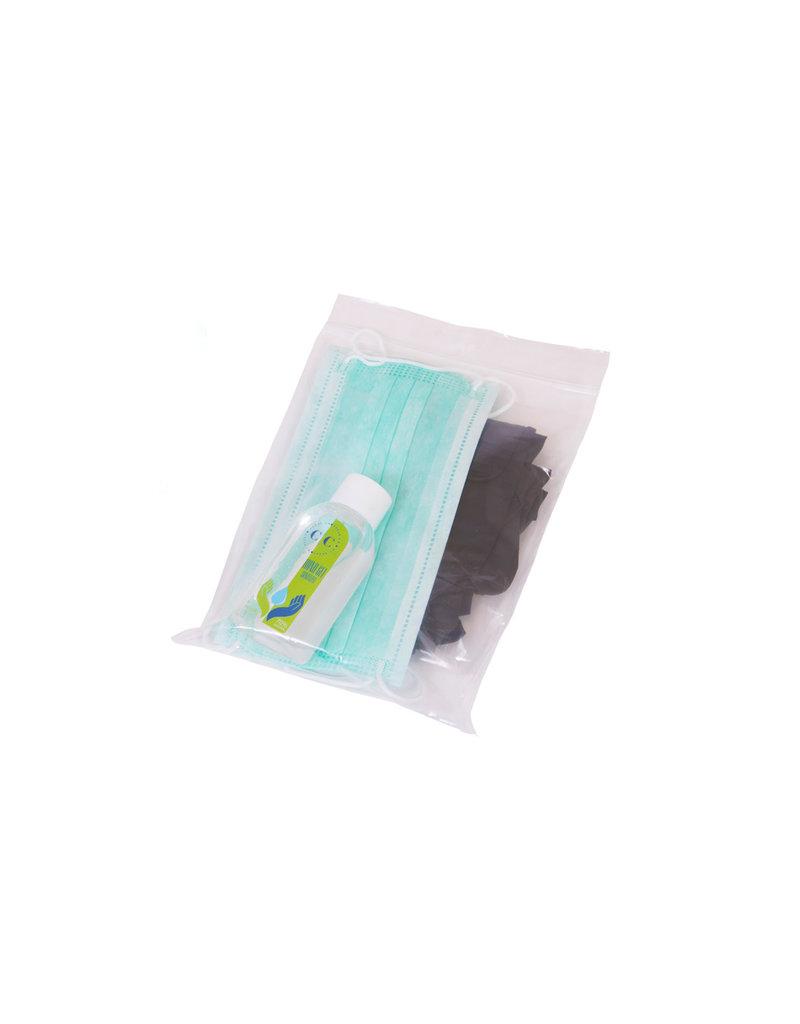 Hygienekit (Mondmaskers/Handschoenen/Disinfectie gel)