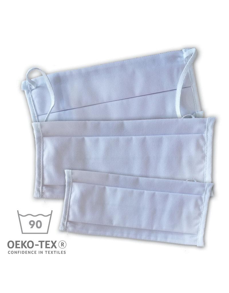 Katoenen mondmasker Oeko-Tex® gecertificeerd