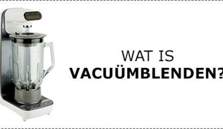 What is vacuum blending?