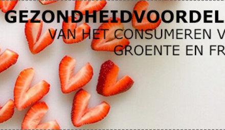 Gezondheidsvoordelen groente en fruit