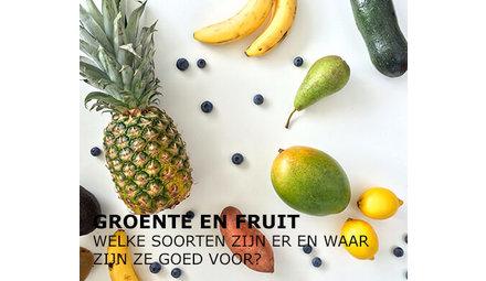 Welke soorten groente en fruit zijn er?