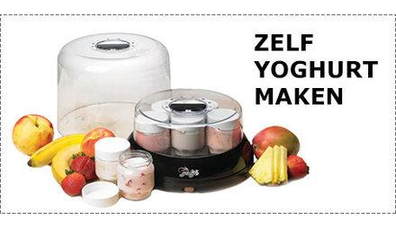 Hoe maak ik zelf yoghurt?