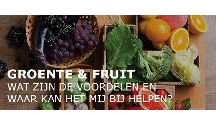Groente en fruit. Wat zijn de voordelen en waar kan het bij helpen?