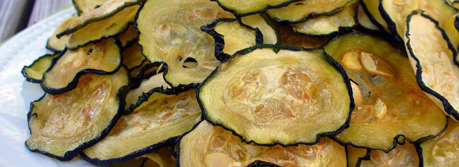 Droogoven recept Courgette