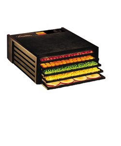 Excalibur 5 Trays Dehydrator black (with timer)