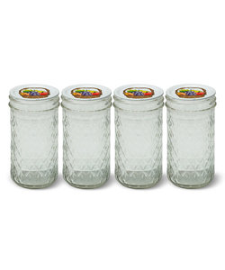 Personal Blender 4 glazen potjes (340 ml)