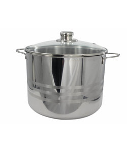 Imperial Kitchen RVS Pan - Inhoud 8 Liter - ø 24 cm