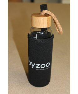 Byzoo Bottle 360ML | Incl. Sleeve + Bamboo Cap