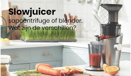 Slowjuicer, Sapcentrifuge of Blender?