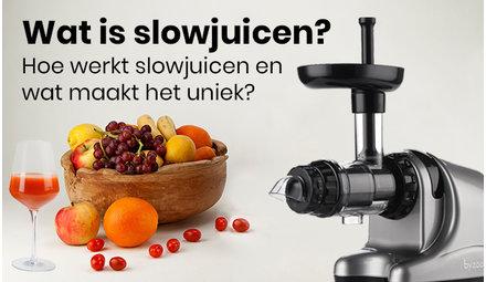 Wat is slowjuicen?