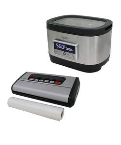 Byzoo Sous vide bak SV02 + Vacuüm sealer VS02 + Accessoires