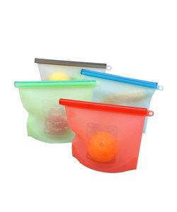 Byzoo Silicone Food Storage Bag set (500 ml, 1000 ml, 1500 ml)