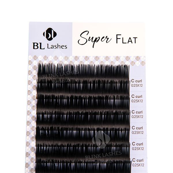 Super Flat Lashes - C krul - dikte: 0.25-2