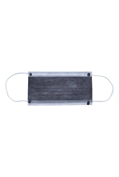 Mondkapje met actieve koolstoffilter met elastiek