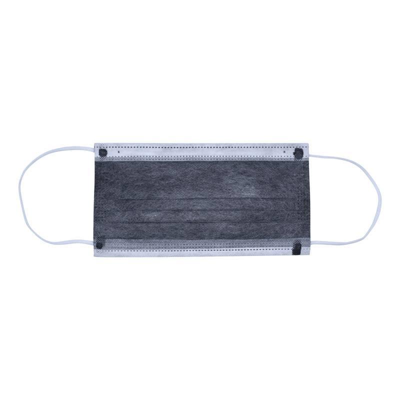 Mondkapje met actieve koolstoffilter met elastiek-1