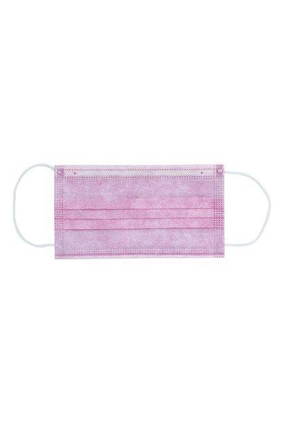 Mondkapje met elastiek 3 laags - Premium