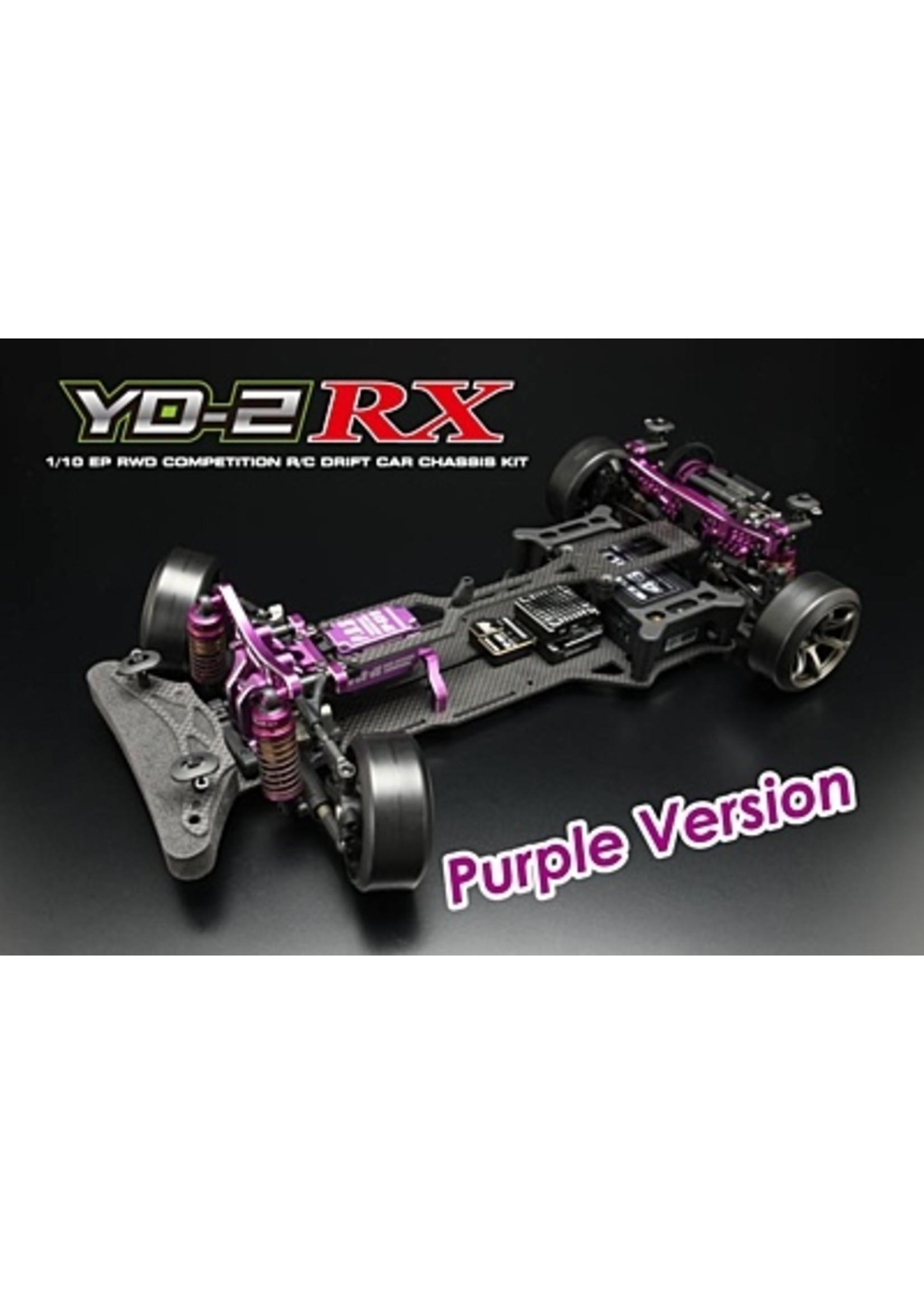 Yokomo Yokomo YD-2RX Purple Version RWD Drift Car Kit (Graphite Chassis) DP-YD2RXP