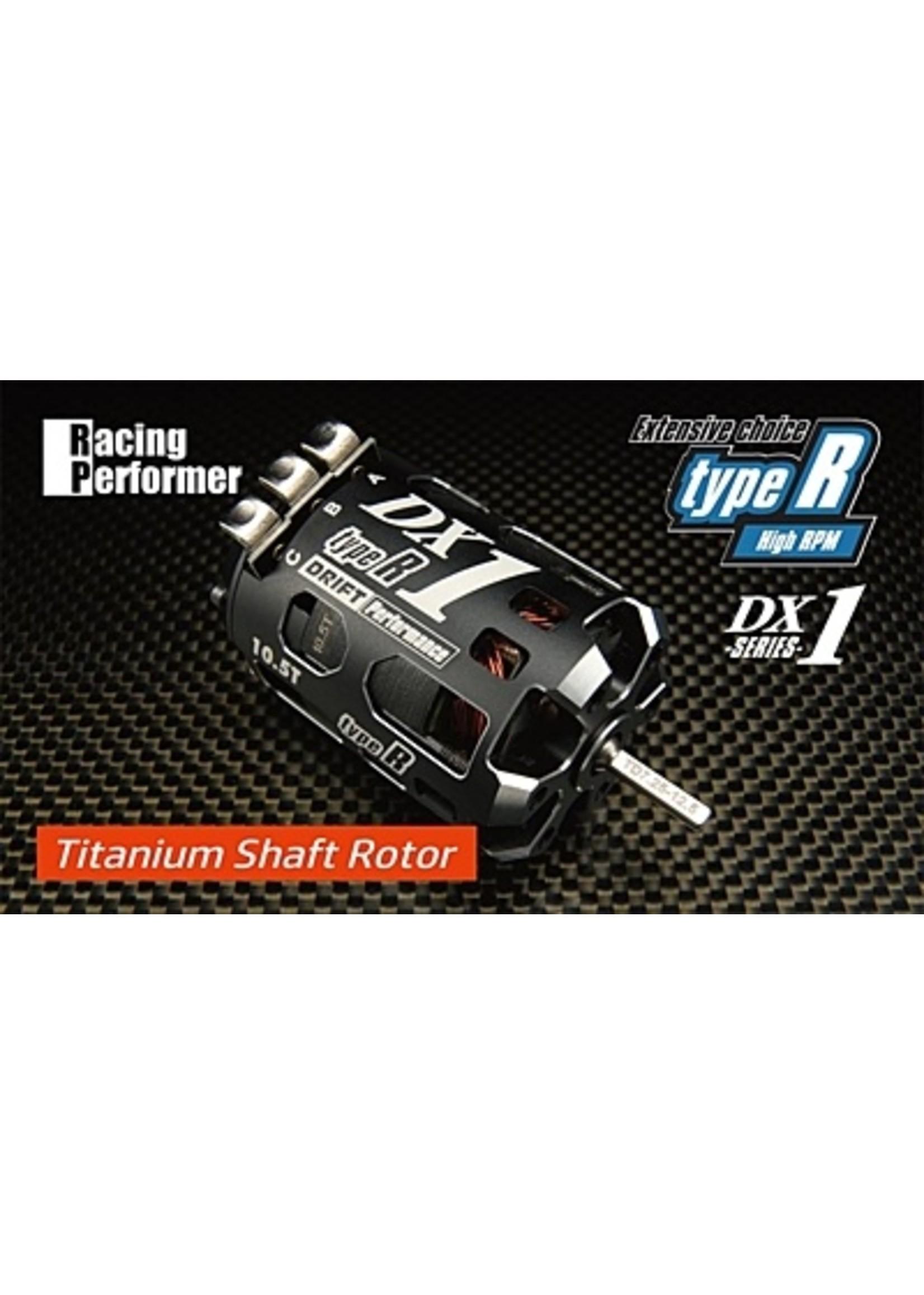 Yokomo Yokomo Racing Performer DX1 Type-R (High Rotation type) Motor (Titanium Shaft) 10.5T RPM-DX105RT