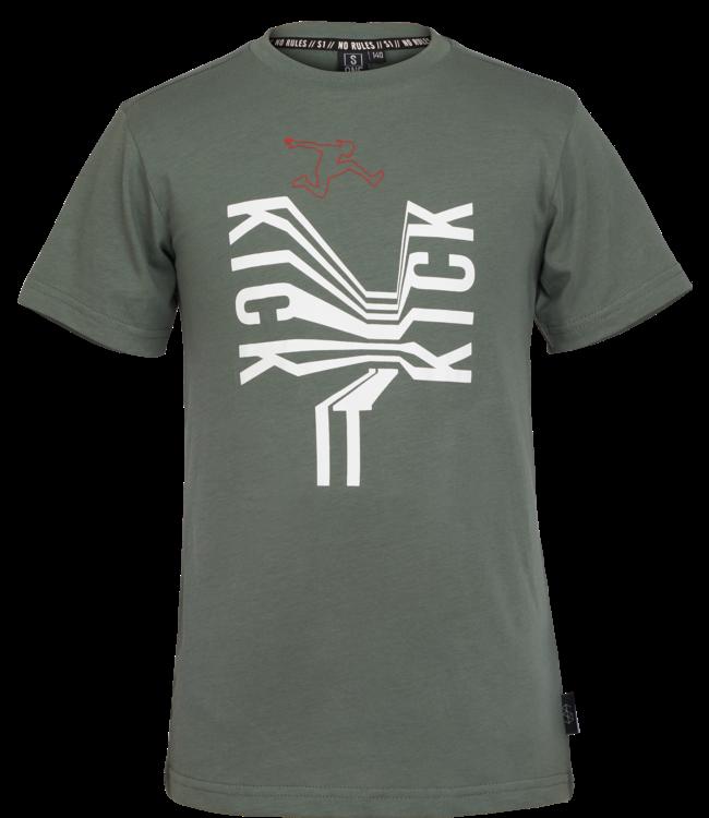 Someone Someone : T-shirt Kick (Khaki)