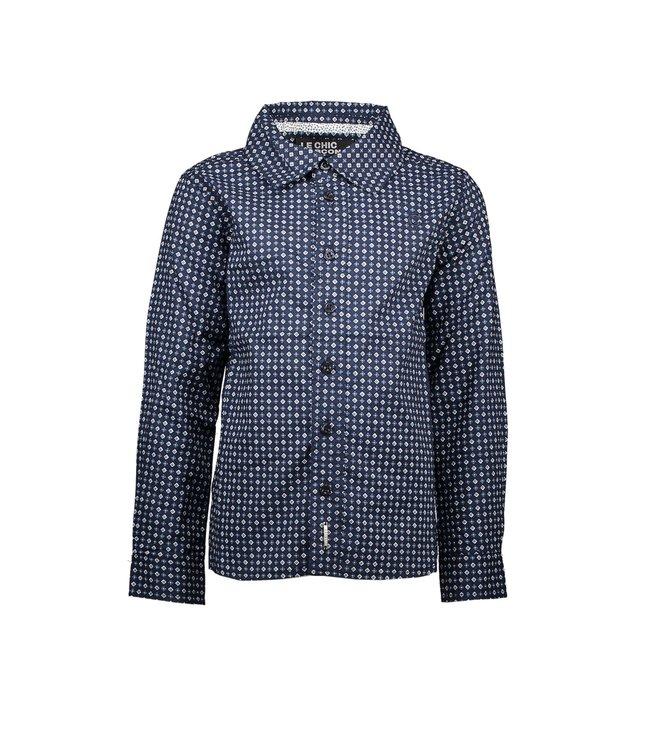 Le chic garçon Le chic garçon : Donkerblauw hemd