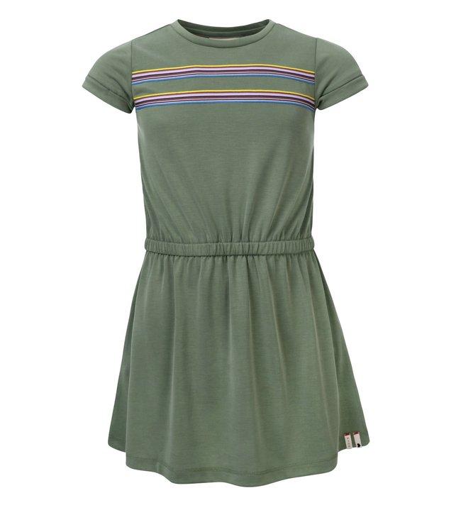 Looxs Looxs : Zacht groen kleed