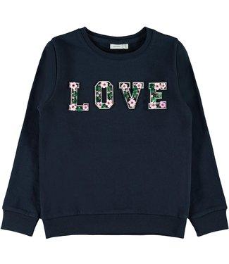 Name it Name it : Sweater Bernadette (Blauw)