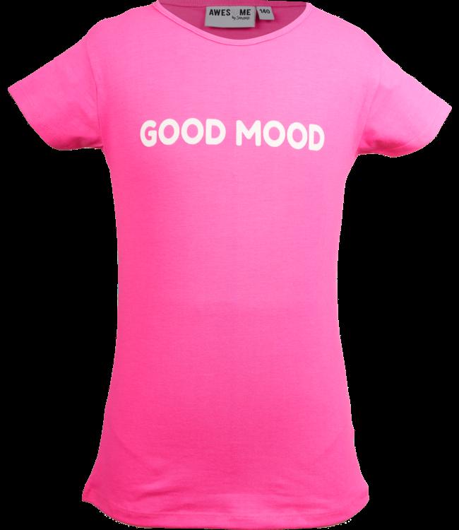 Someone Someone : T-shirt Reflect (Roze)