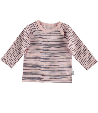BESS newborn BESS newborn : Longsleeve Pinstripe (roze)