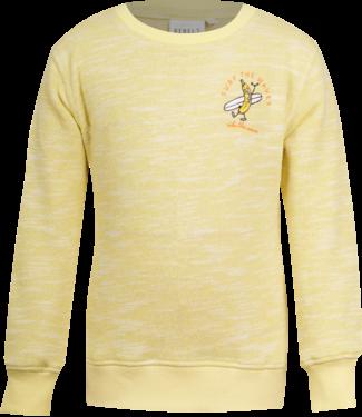 Mini Rebels Mini Rebels : Sweater Banaan