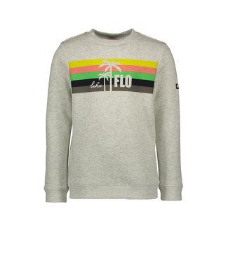 Like Flo Like Flo : Lichtgrijze sweater