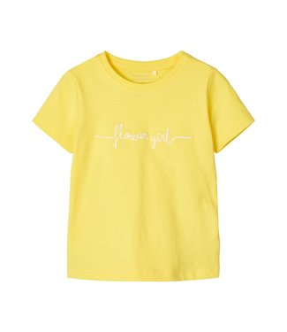 Name it Name it : T-shirt Fabina (geel)