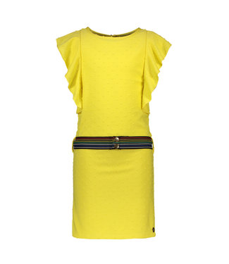 Like Flo Like flo : Geel jurkje met riem