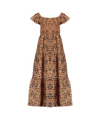 Nono Nono : Lang kleed in luipaardprint