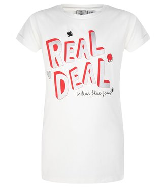 Indian Blue Jeans Indian Blue Jeans : T-shirt Real deal