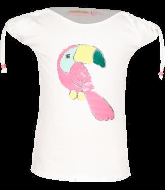 Someone Someone : T-shirt Toekie (ecru)