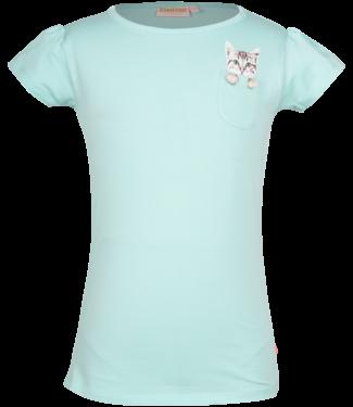 Someone Someone : T-shirt Kitty (mint)