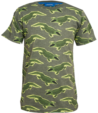 Someone Someone : T-shirt Croco (khaki)