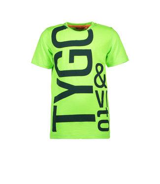 Tygo & Vito Tygo & Vito : T-shirt Fluo (groen)