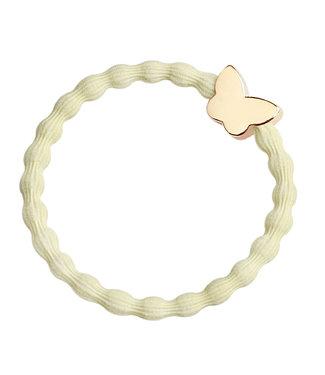 ByEloise ByEloise : Gele armband met vlinder