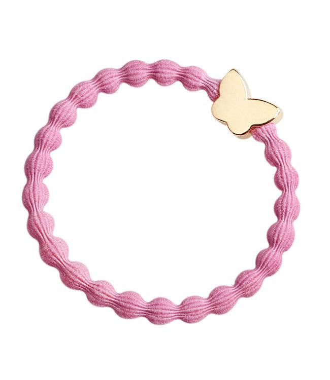 ByEloise ByEloise : Roze armband met vlinder