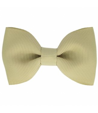 Your little miss Your little miss : Haarspeldje Light olive bow