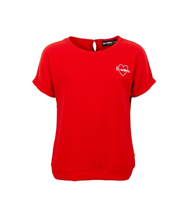 Someone Someone : T-shirt About (red)